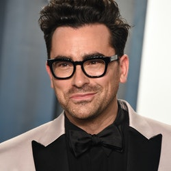 Dan Levy has an impressive filmography that includes 'Schitt's Creek,' 'Degrassi,' 'The Kacey Musgraves Christmas Show,' and 'Happiest Season.'