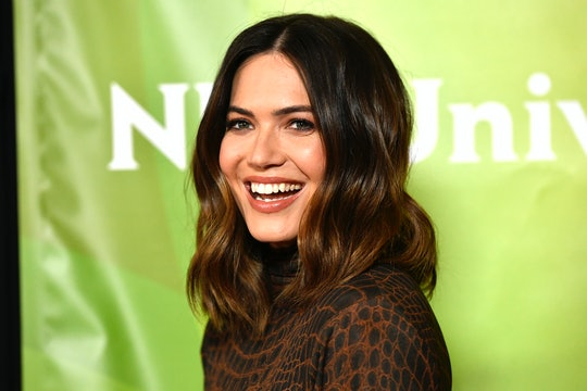 In a new interview, Mandy Moore said that her role as Rebecca Pearson on 'This Is Us' has prepared her for motherhood.