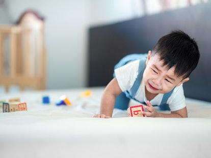 Experts say your toddler is so angry because they are having difficulty expressing their emotions.