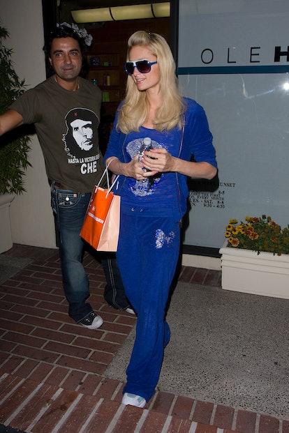 Paris Hilton 2000s Trends Juicy Couture