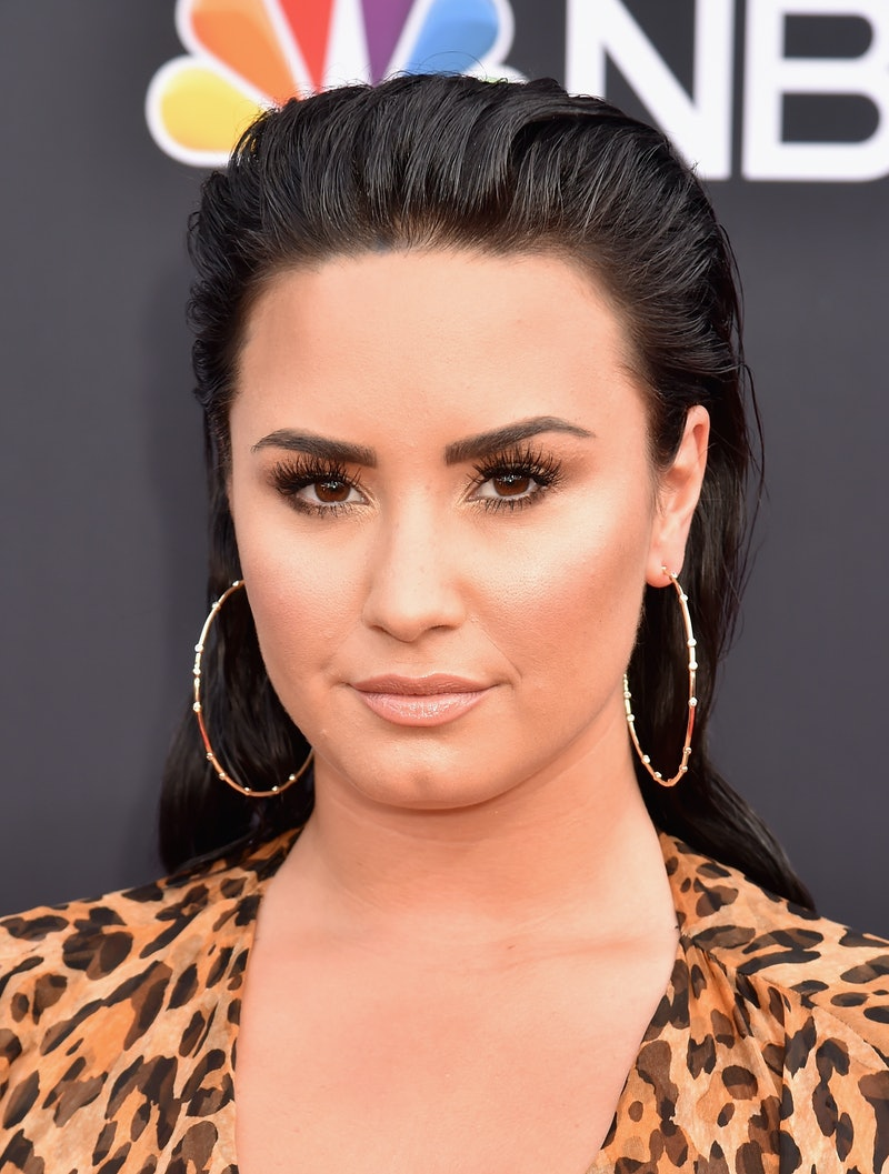 Demi Lovato joked about her broken engagement at the 2020 People's Choice Awards.