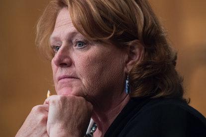 Former Sen. Heidi Heitkamp