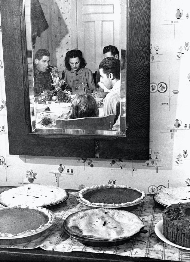 Thanksgiving pies.