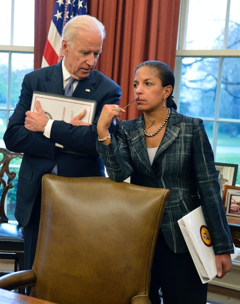 Joe Biden and Susan Rice