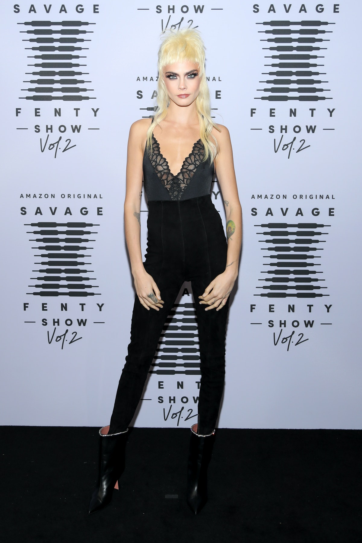 Cara Delevingne's bacon foot tattoo is a different sort of food ink.
