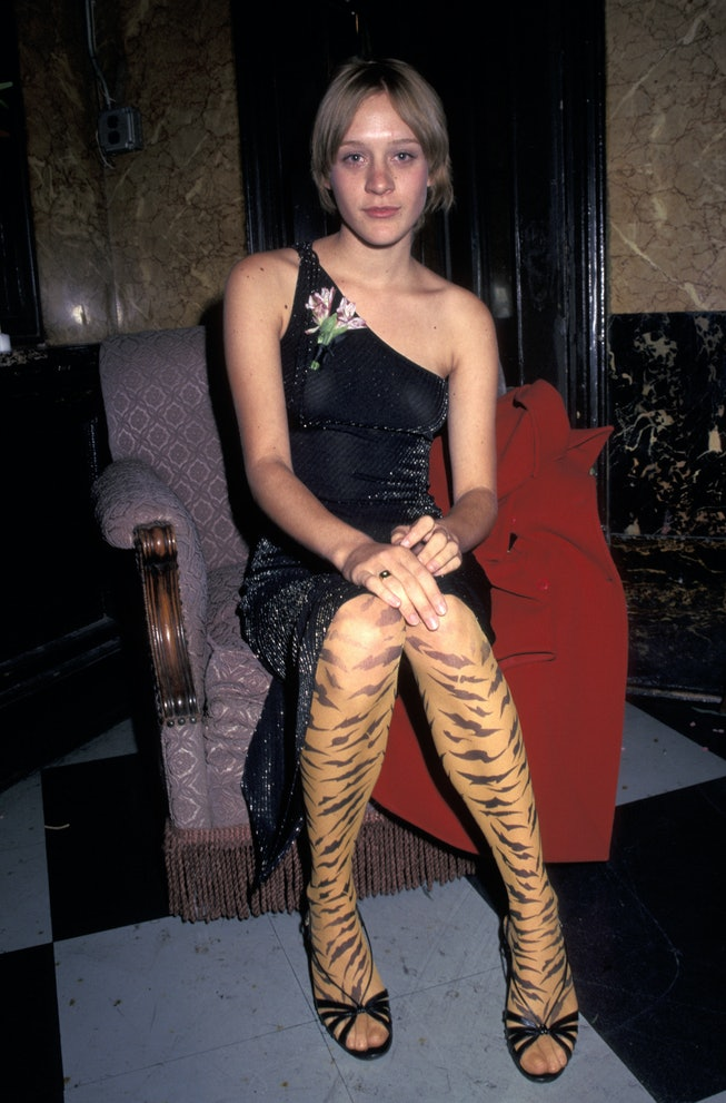 Chloe Sevigny at the 1996 premiere Trees Lounge premiere.