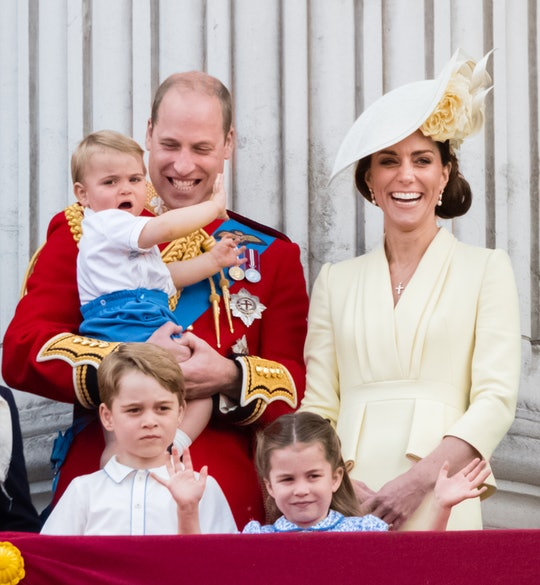 Prince George and Princess Charlotte are loving their great-grandmother's playhouse.