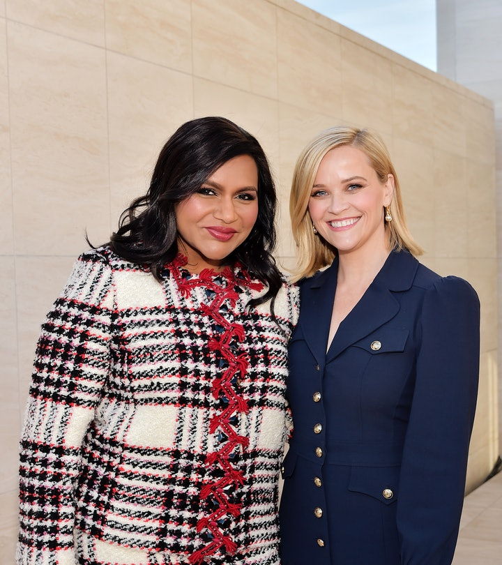 Mindy Kaling admitted Reese Witherspoon gave her the best gift when she gave birth to her son this year.
