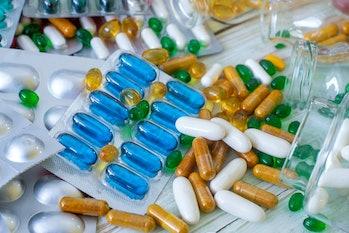 vitamin pill packets