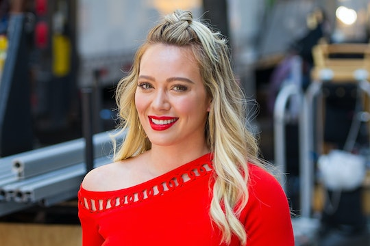 Hilary Duff posted a brand new photo of her pregnancy bump to Instagram on Monday with the most relatable caption.