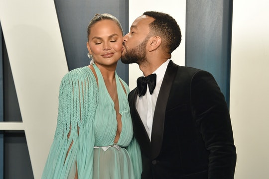 Chrissy Teigen revealed in an Instagram post that her friends donated blood in honor of her son, Jack.