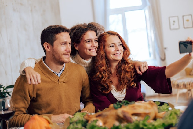 Friends on Thanksgiving are often all you need.