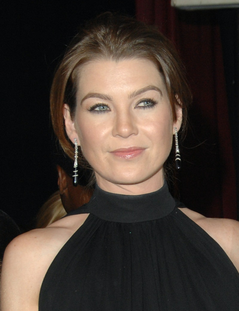 Ellen Pompeo posted a GIF of Katherine Heigl amid controversy with Isaiah Washington.