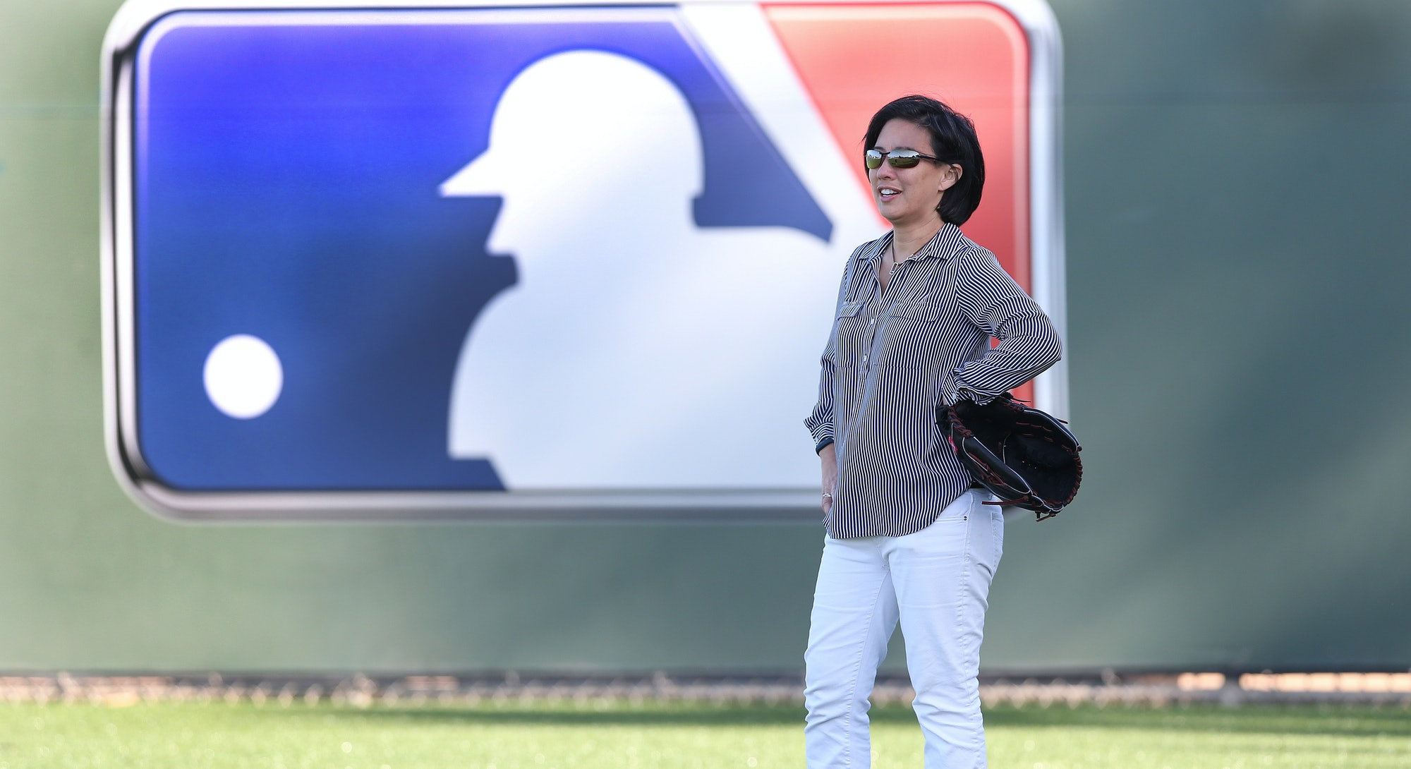 Kim Ng, general manager of the Miami Marlins