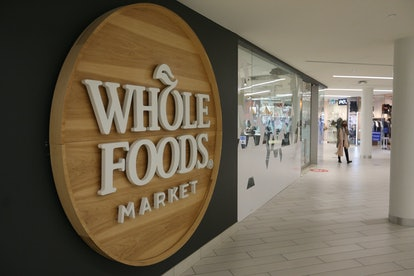 Whole Foods storefront.