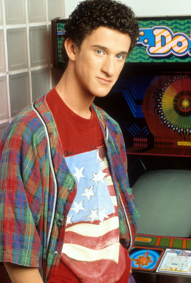 Dustin Diamond as Screech in 'Saved by the Bell'