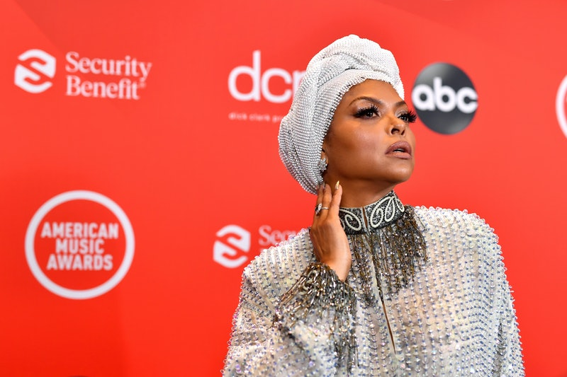 Taraji P. Henson did her own nails for the 2020 American Music Awards