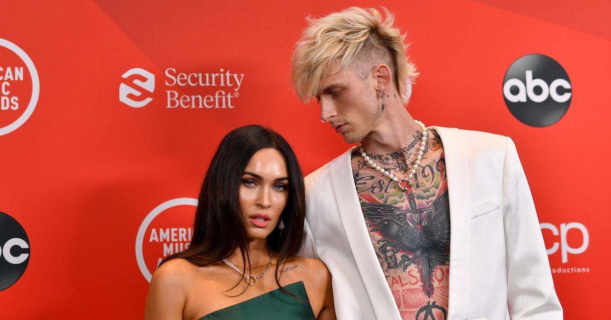Megan Fox & Machine Gun Kelly's Red Carpet Body Language Is Surprising