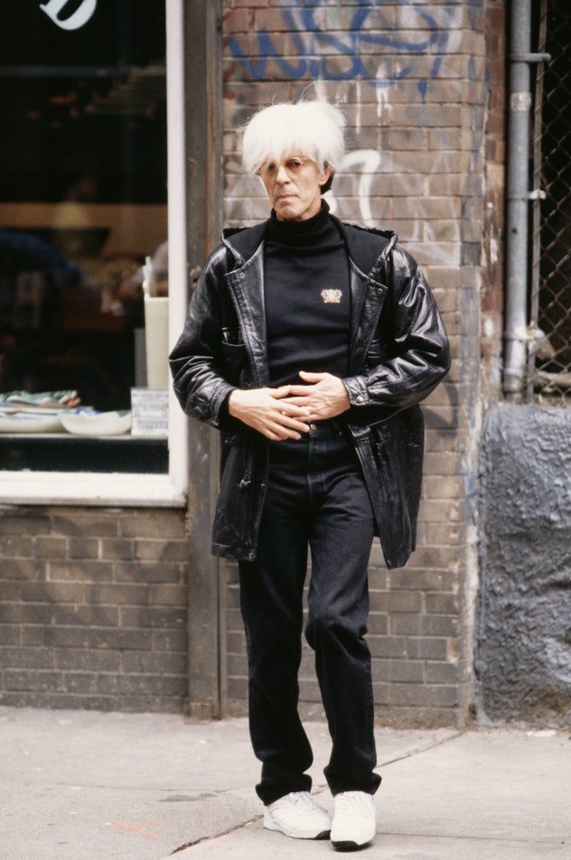david bowie as andy warhol in basquiat