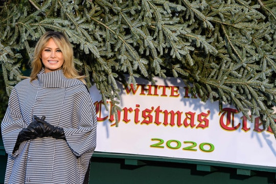 Melania Trump's last Christmas at the White House has Twitter reminiscing.