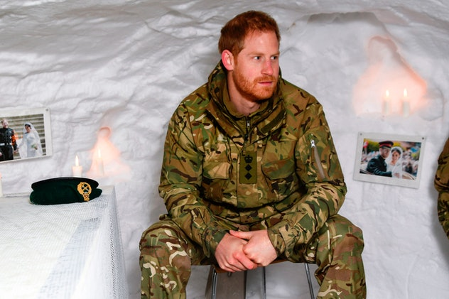 Prince Harry visits Norway in 2019.