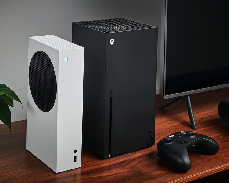 Microsoft's new Xbox Series X.