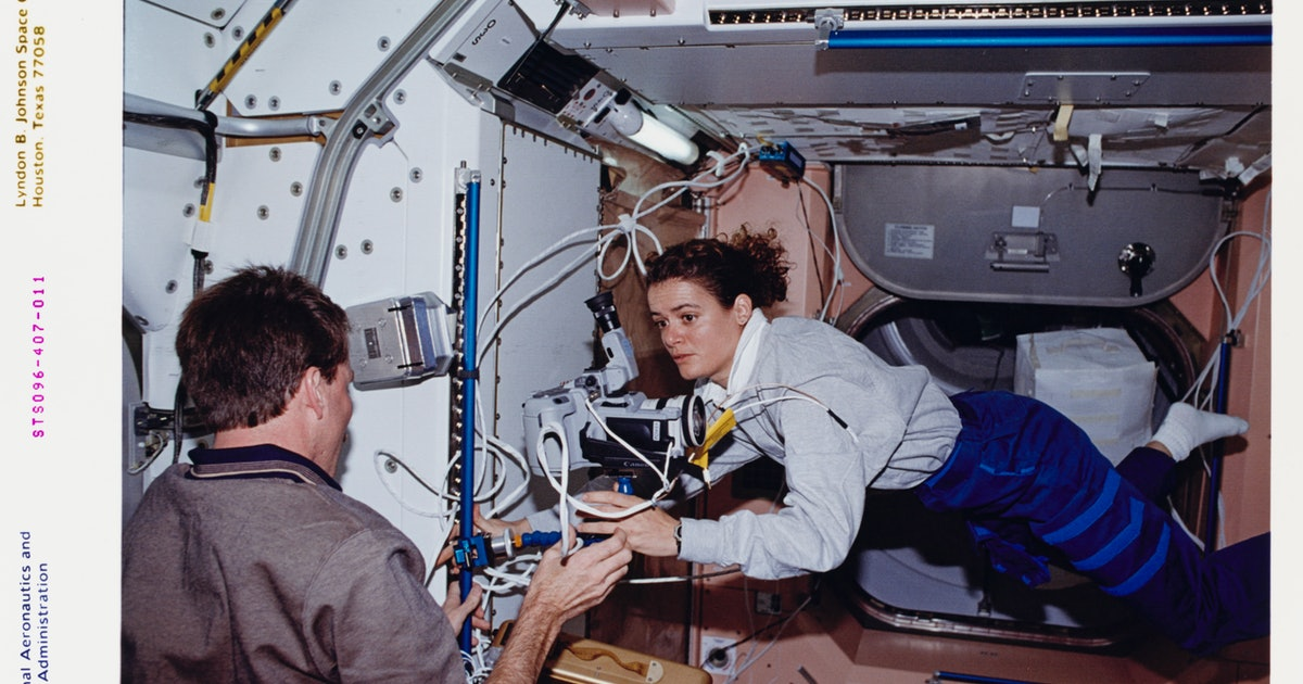 Here's why space messes your body up