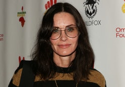 Courteney Cox celebrates Thanksgiving with everyone's favorite dance.
