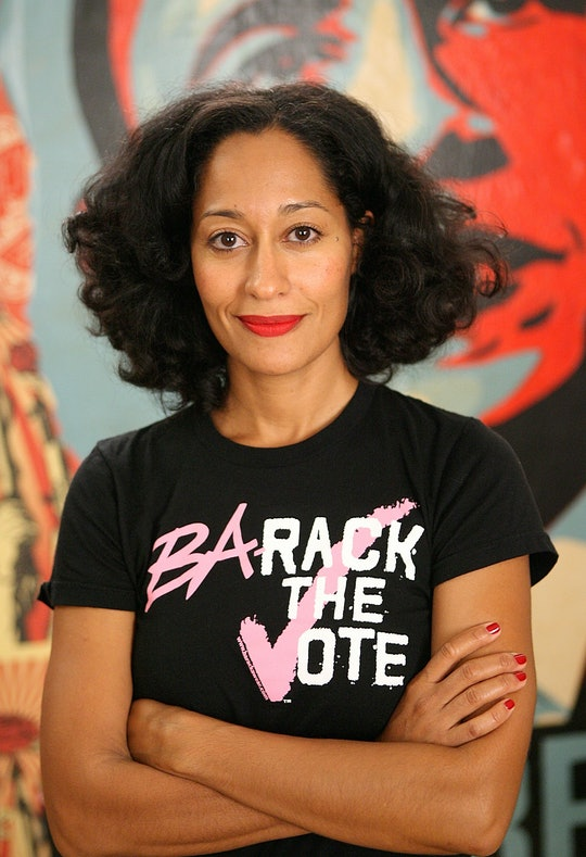 Tracee Ellis Ross encourages African Americans to vote in the 2020 presidential election.