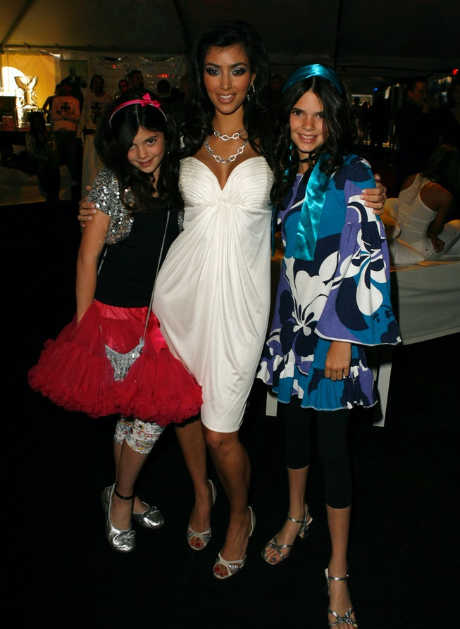Kendall Jenner at the 2007 DASH fashion show.
