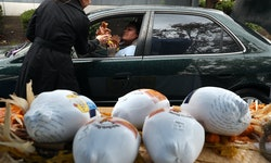 If you don't think you can afford a turkey this year, there are organizations that may have one for...