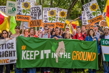 Fracking has drawn widespread protests.
