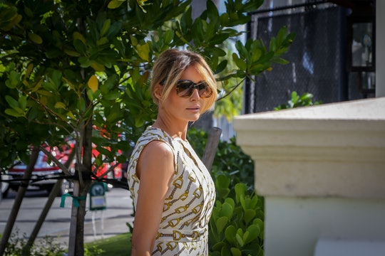 Melania Trump did not wear a mask to vote at her Palm Beach, Florida polling place.