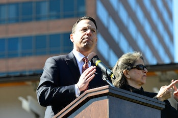 Pennsylvania Attorney General Josh Shapiro, a major critic of the state's fracking practices.