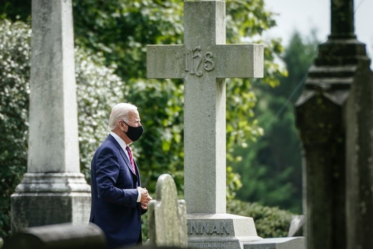 Joe Biden visited son Beau's grave on Election Day.