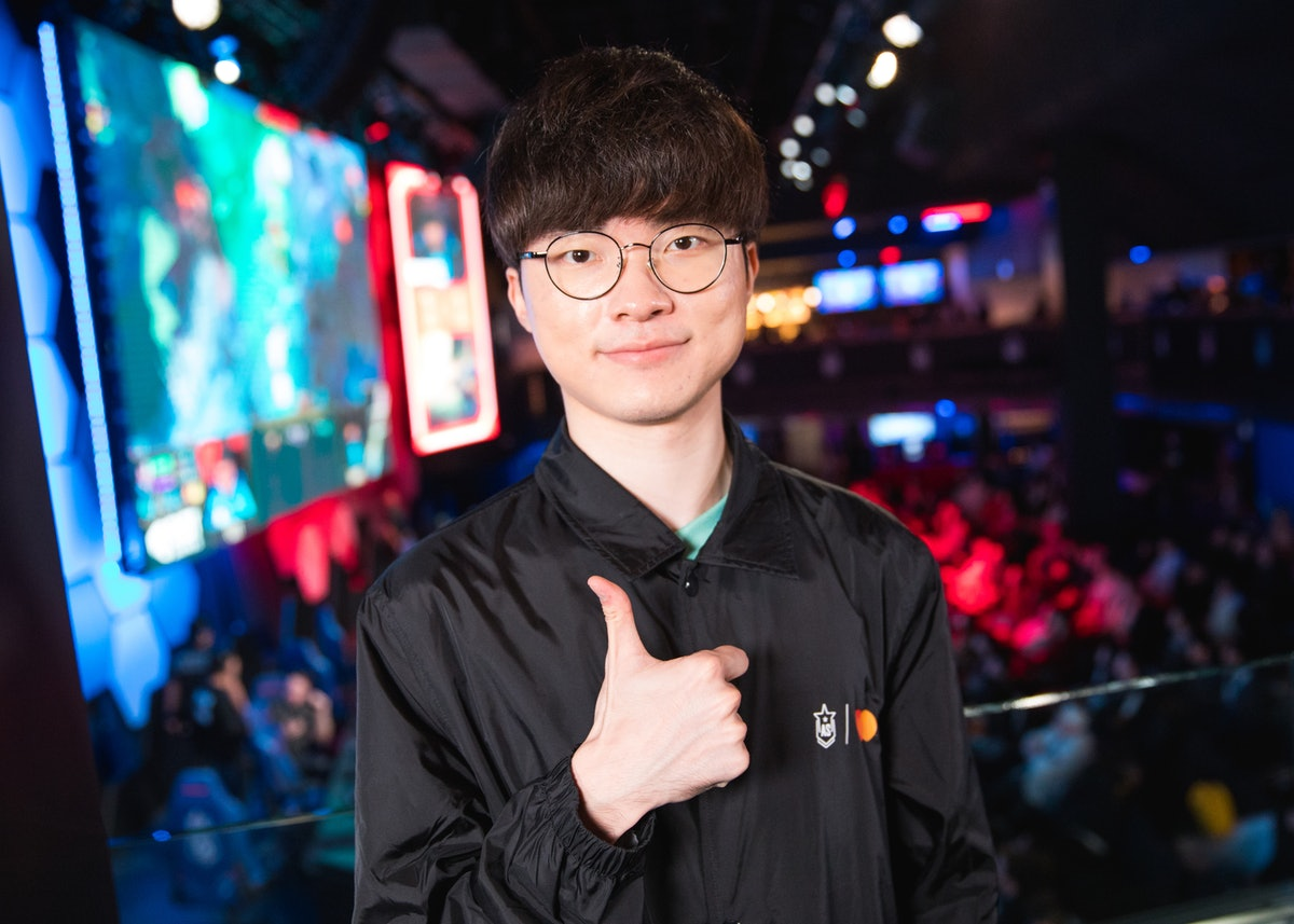 Who Is Faker? The Professional Gamer & BTS Had An Epic Video Game Battle