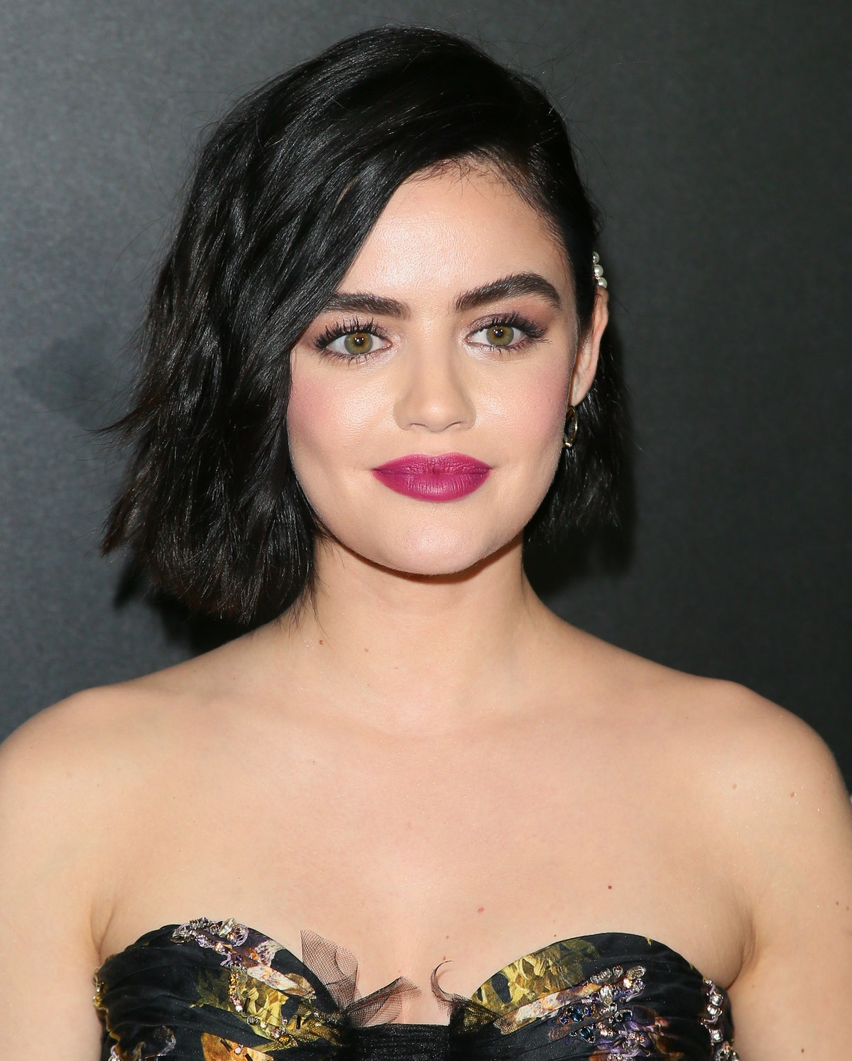 Lucy Hale has a tattoo for her dog.