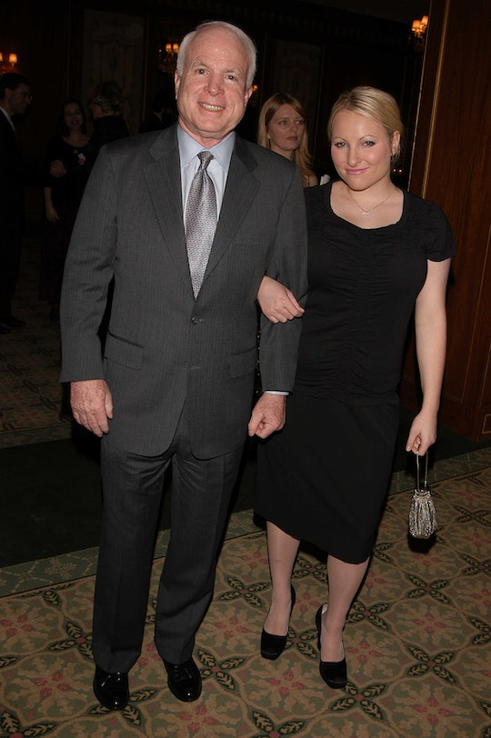 Meghan McCain marked the 2020 presidential election as the first without her father in a touching tribute penned on Twitter.