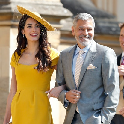 Amal Clooney's most iconic hairstyles: Meghan Markle and Prince Harry's wedding.