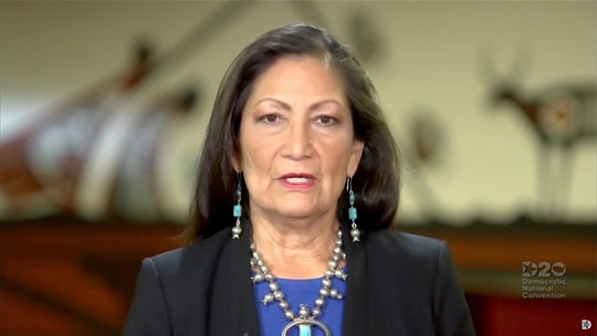 Incumbent congresswoman Deb Haaland got reelected in the state of New Mexico, making it the first state to elect all women of color to fill its seats in the House.