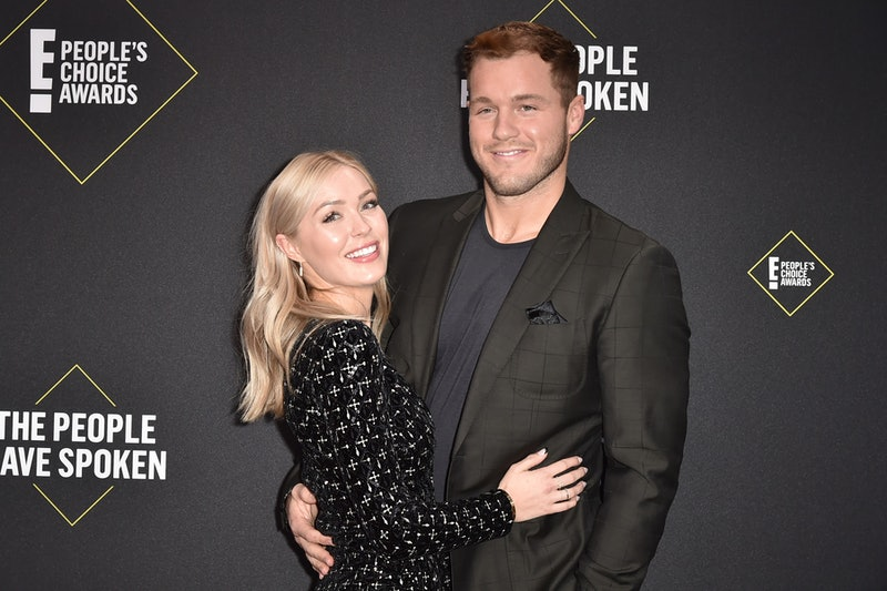 Cassie Randolph dropped her restraining order against former 'Bachelor' Colton Underwood (pictured here at the People's Choice Awards).