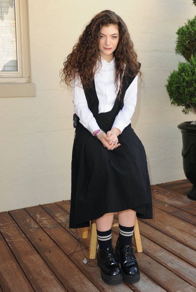 Lorde in 2013, 98.7 FM's Penthouse Party Pad