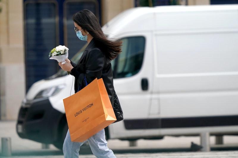 Mask Shopper During Coronavirus Pandemic