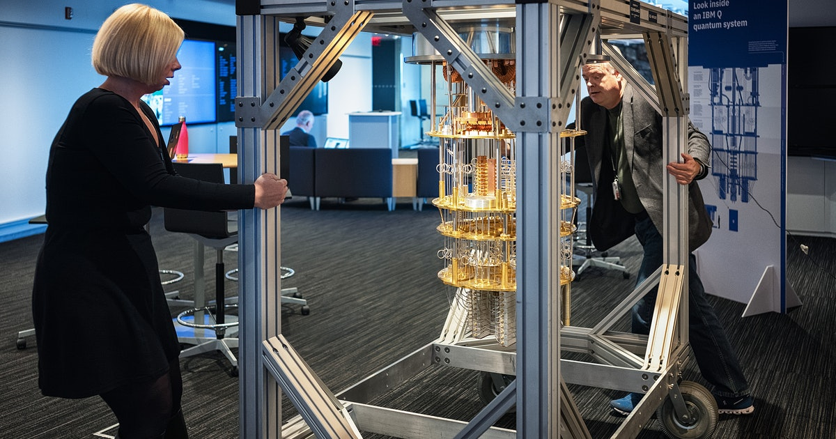 CERN is offering a free quantum computing course online