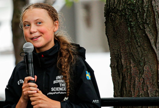 Greta Thunberg totally flipped the script on Donald Trump.