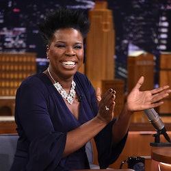 Comedian Leslie Jones posted a video of her obsessing over MSNBC commentator Steve Kornacki.