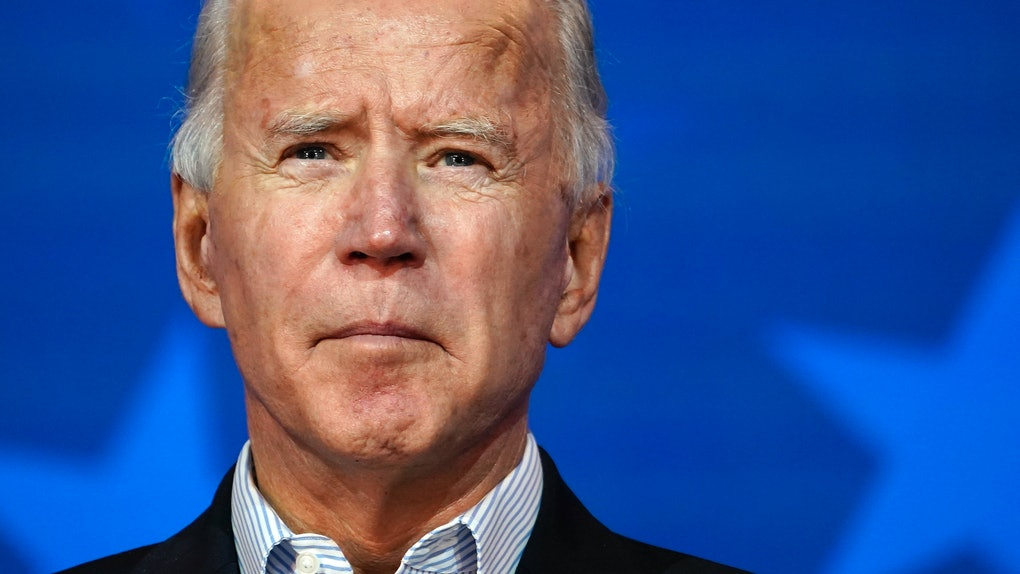 Biden's message after the 2020 election was called is a celebration.