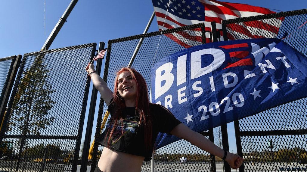 Videos of celebrations after Joe Biden's 2020 win have taken over Twitter.