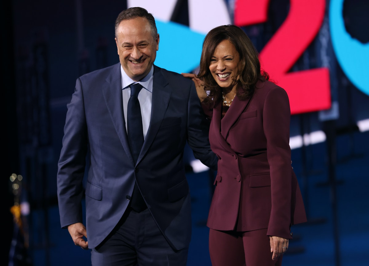 Doug Emhoff's message to Kamala Harris about the 2020 election results is so cute.