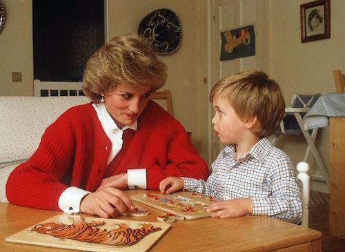 Princess Diana was a fan of sweaters.
